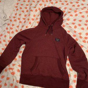 Small Burgundy Abercrombie sweatshirt